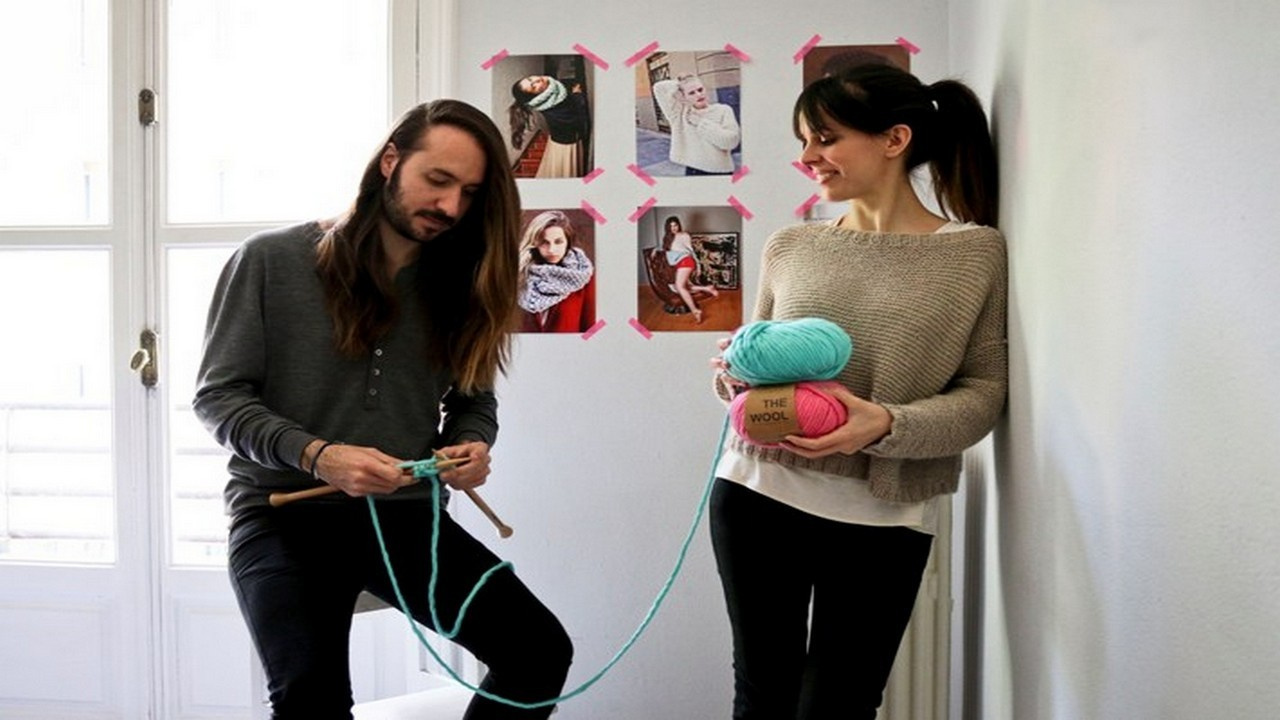 Alberto Bravo, cofundador de We Are Knitters