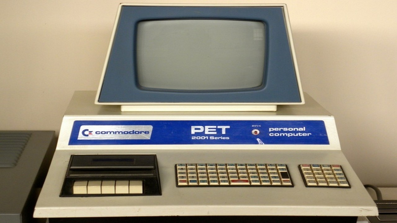 Commodore PET... el ordenador de Darth Vader